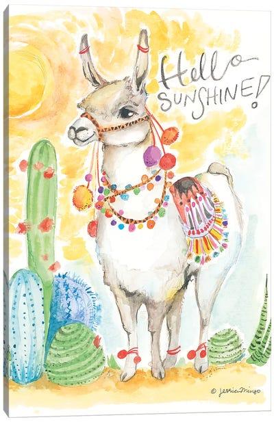 Hello Sunshine Canvas Art Print