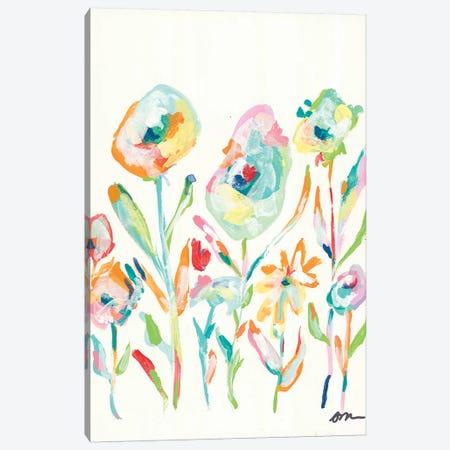 Mod Flowers II Canvas Print #MNG87} by Jessica Mingo Canvas Print