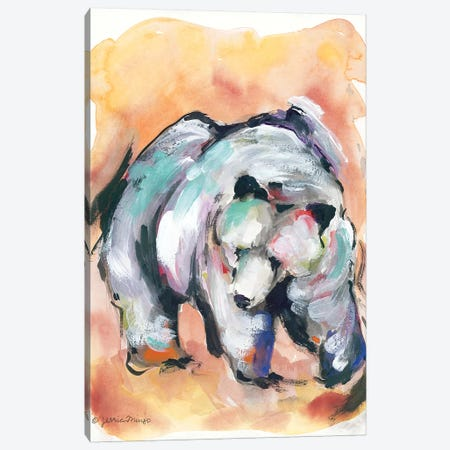 Mountain Grisly Canvas Print #MNG88} by Jessica Mingo Canvas Artwork