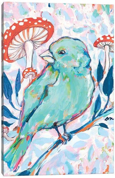 Mushroom Forest Canvas Art Print