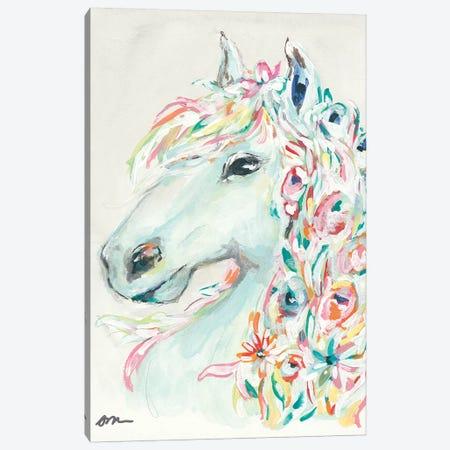 Pony Rose Canvas Print #MNG92} by Jessica Mingo Art Print