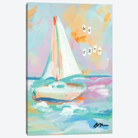 Sailboat II Canvas Print #MNG94} by Jessica Mingo Canvas Art