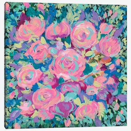 Pink Blossoms Canvas Print #MNG9} by Jessica Mingo Canvas Print