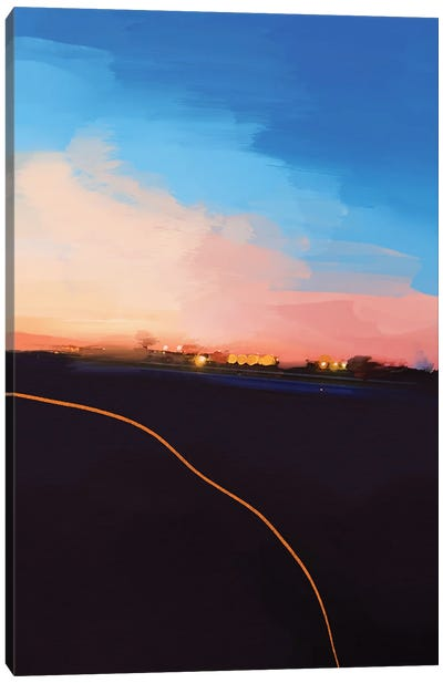 Leaving Philly Last Summer Canvas Art Print