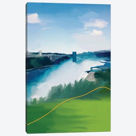 Niagara Falls Canvas Print #MNH138} by Morgan Harper Nichols Art Print