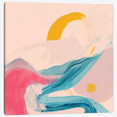 Rivers Abstract Canvas Print #MNH158} by Morgan Harper Nichols Art Print