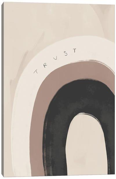 Trust Rainbow Canvas Art Print