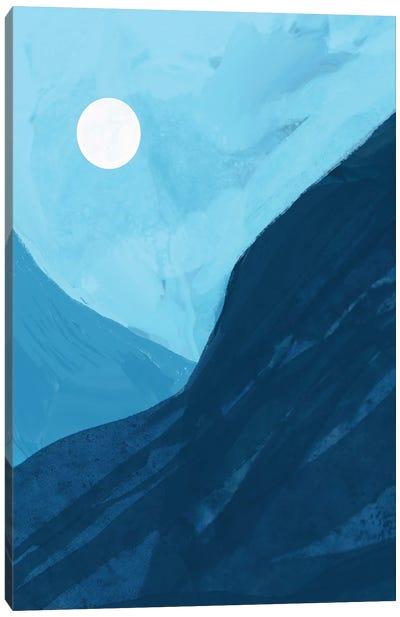 Blue Canyon Canvas Art Print