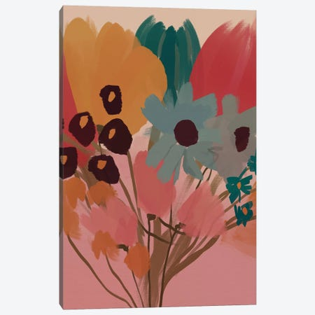Flower Bouquet Canvas Print #MNH168} by Morgan Harper Nichols Canvas Artwork
