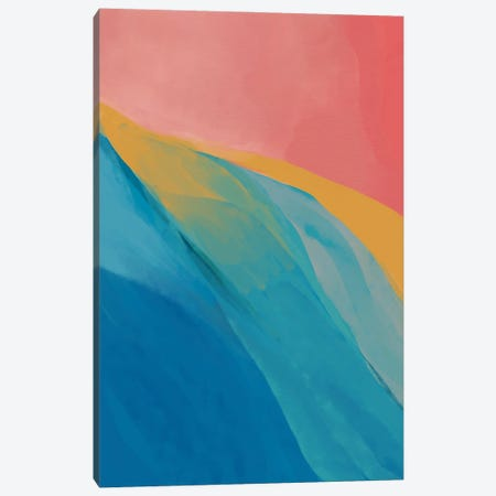 Abstract Primary Colors Canvas Print #MNH170} by Morgan Harper Nichols Canvas Art Print
