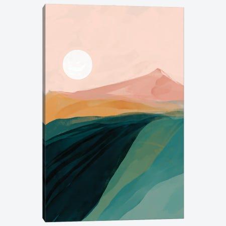 Emerald Canyon Canvas Print #MNH17} by Morgan Harper Nichols Canvas Print