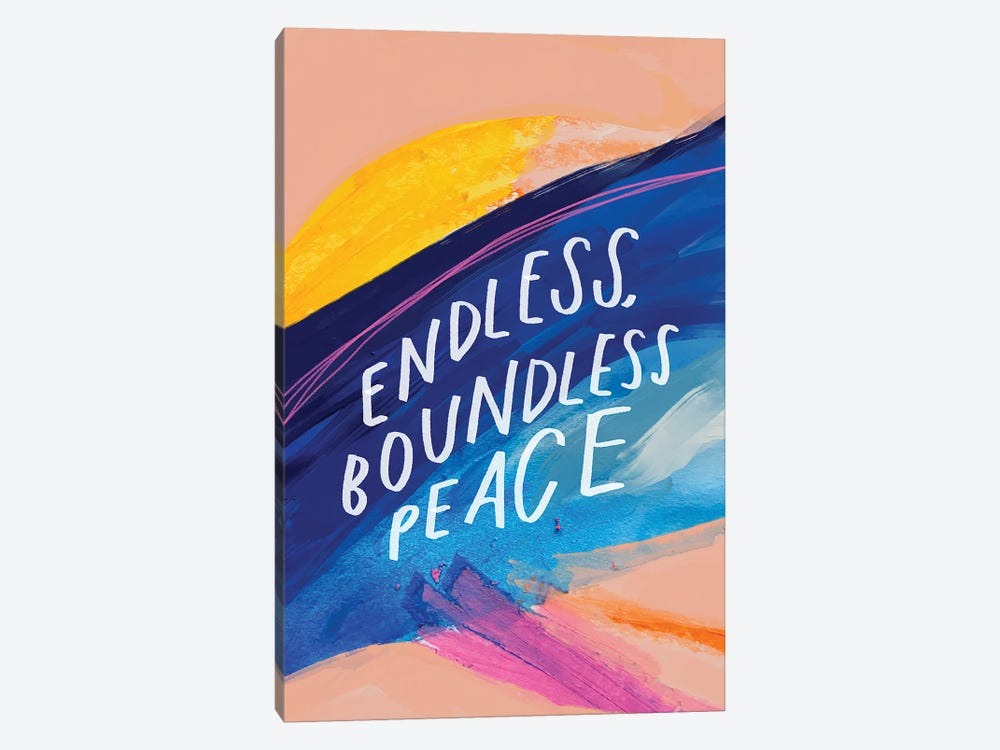 Endless Boundless Peace by Morgan Harper Nichols 1-piece Canvas Artwork