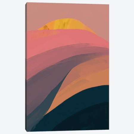 Abstract Pinks Canvas Print #MNH1} by Morgan Harper Nichols Canvas Artwork