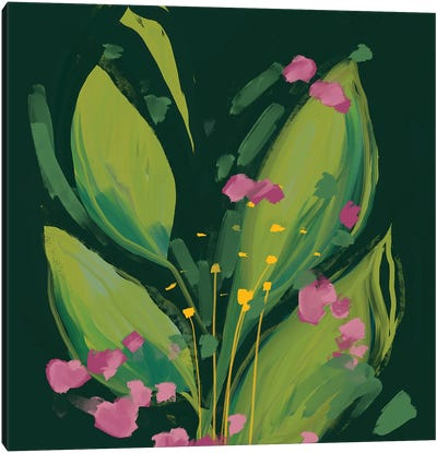 Flowers I Canvas Art Print