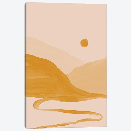 Gold Canyons Canvas Print #MNH22} by Morgan Harper Nichols Canvas Print