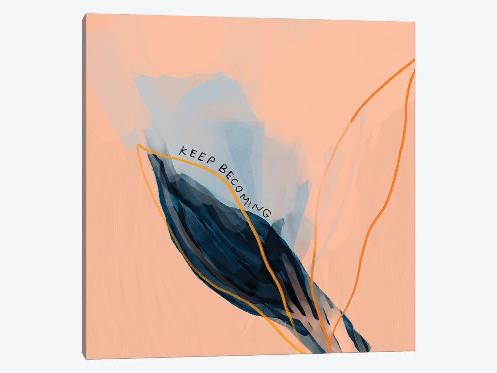 Keep Becoming by Morgan Harper Nichols 1-piece Canvas Artwork
