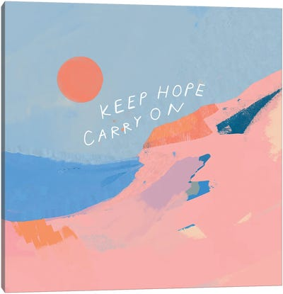 Keep Hope Carry On Canvas Art Print