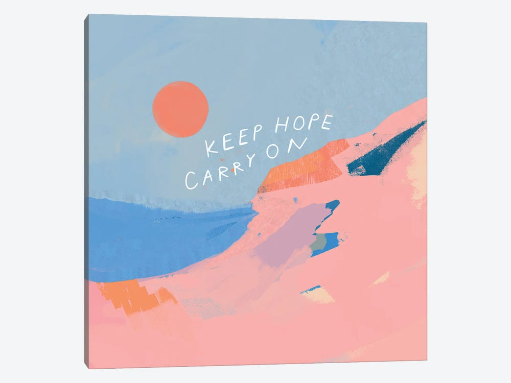 Keep Hope Carry On by Morgan Harper Nichols 1-piece Canvas Wall Art