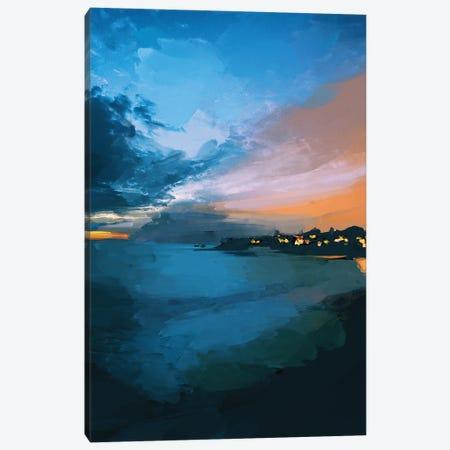 Laguna Sunset Canvas Print #MNH31} by Morgan Harper Nichols Canvas Wall Art