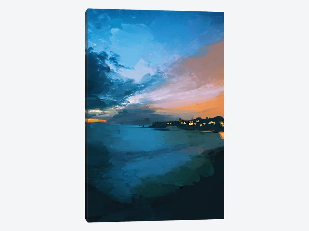 Laguna Sunset by Morgan Harper Nichols 1-piece Canvas Print