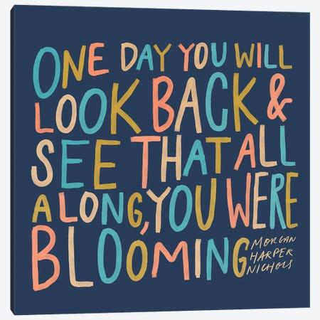 One Day Colorful Canvas Print #MNH42} by Morgan Harper Nichols Art Print