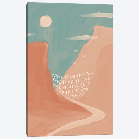 Revealed To You In Time Canvas Print #MNH46} by Morgan Harper Nichols Canvas Art