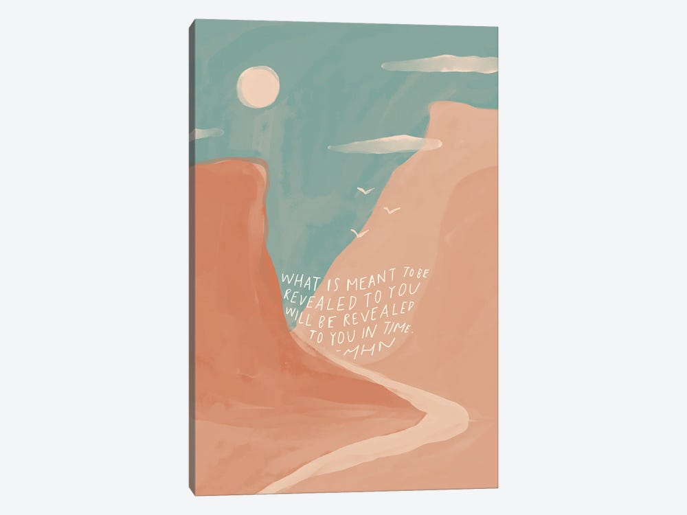 Revealed To You In Time by Morgan Harper Nichols 1-piece Canvas Art Print