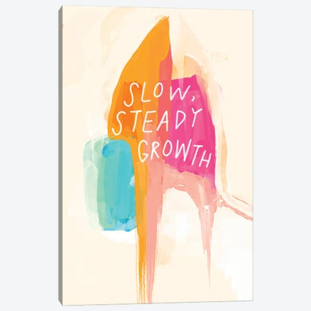 Slow Steady Growth Canvas Print #MNH50} by Morgan Harper Nichols Canvas Artwork