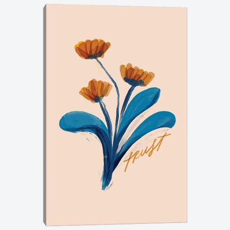 Trust Flowers Canvas Print #MNH56} by Morgan Harper Nichols Canvas Art Print