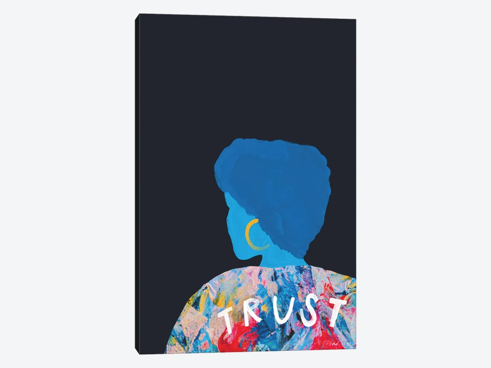 Woman Of Trust by Morgan Harper Nichols 1-piece Canvas Art Print