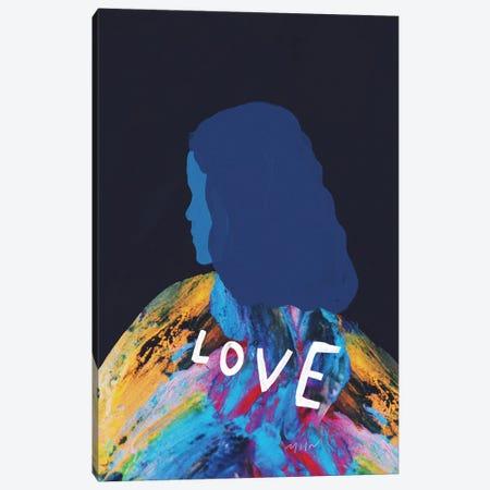 Love Canvas Print #MNH72} by Morgan Harper Nichols Canvas Wall Art