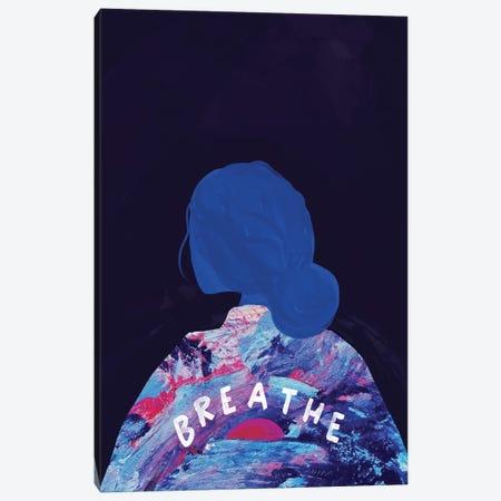 Breathe Canvas Print #MNH74} by Morgan Harper Nichols Canvas Art Print