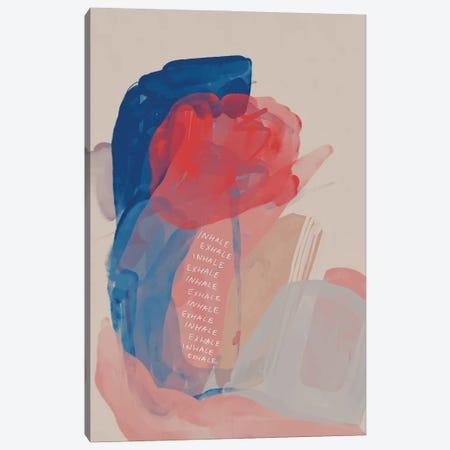 Inhale Exhale Abstract Canvas Print #MNH75} by Morgan Harper Nichols Canvas Print