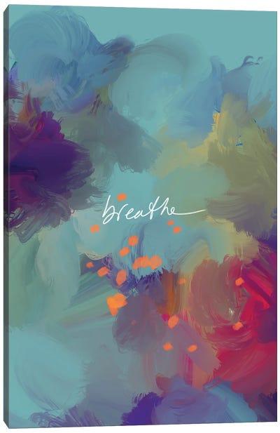 Breathe 1 Canvas Art Print