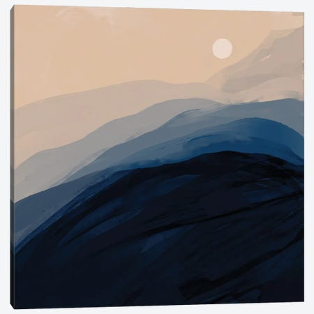 Blue Sunrise Canvas Print #MNH80} by Morgan Harper Nichols Art Print