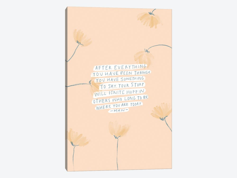 After Everything That Happened by Morgan Harper Nichols 1-piece Art Print