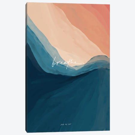 Breathe Classic Canvas Print #MNH92} by Morgan Harper Nichols Canvas Art