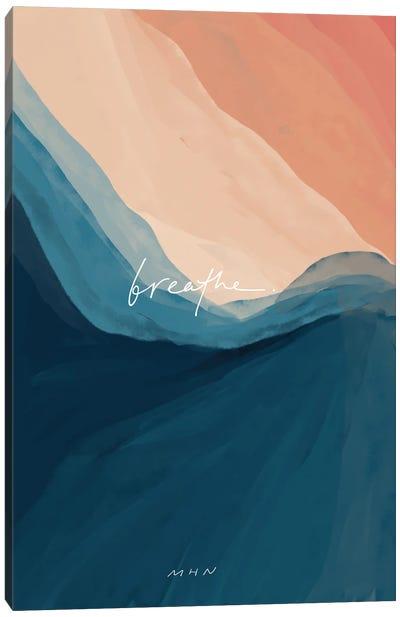 Breathe Classic Canvas Art Print