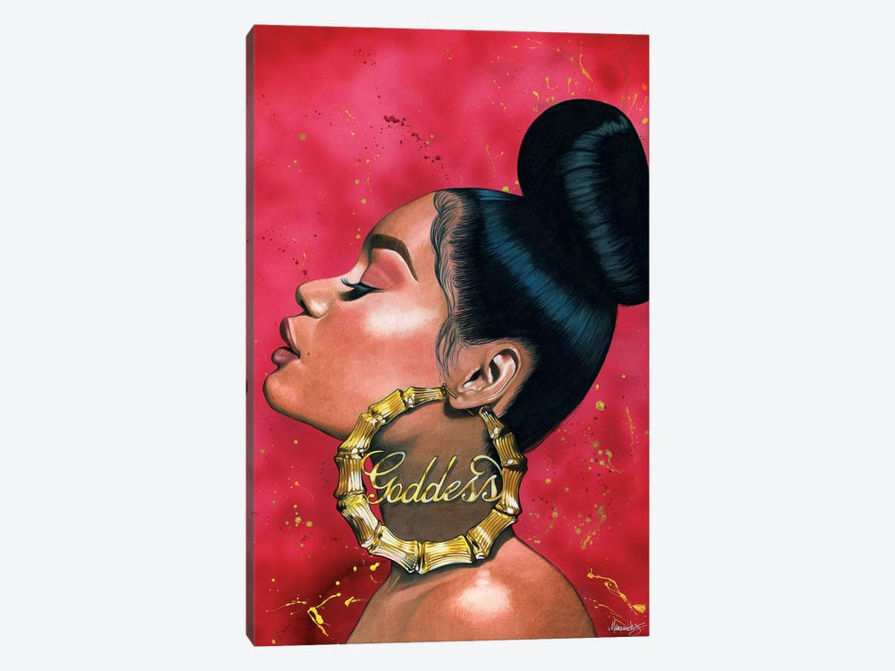 Goddess by Manasseh Johnson 1-piece Canvas Print