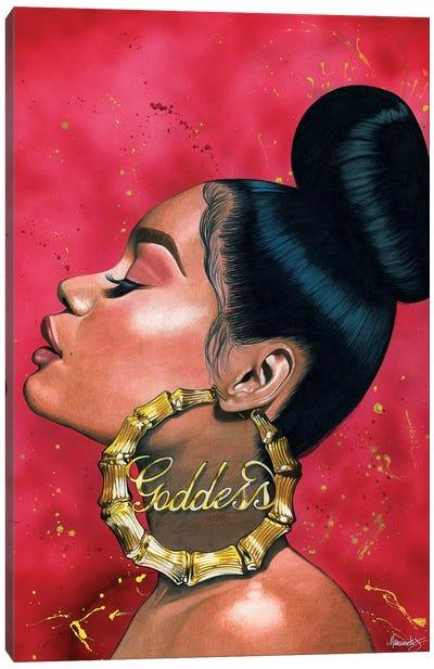 Goddess Canvas Art Print