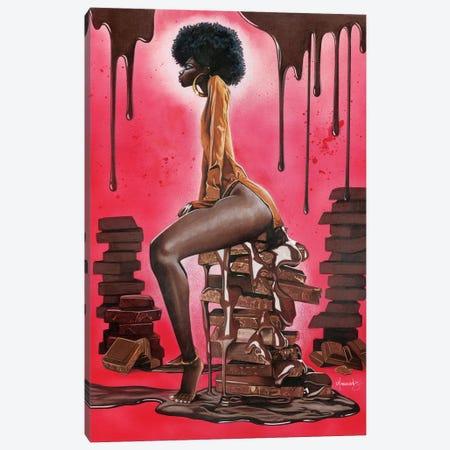 Godiva 3-Piece Canvas #MNJ11} by Manasseh Johnson Canvas Art
