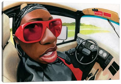 Missy Elliot Canvas Art Print