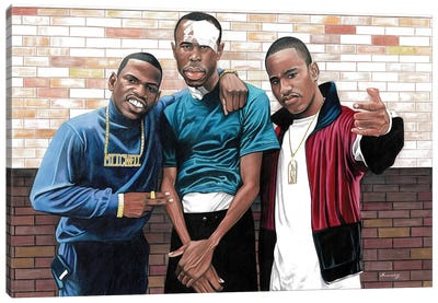 Paid In Full Canvas Art Print