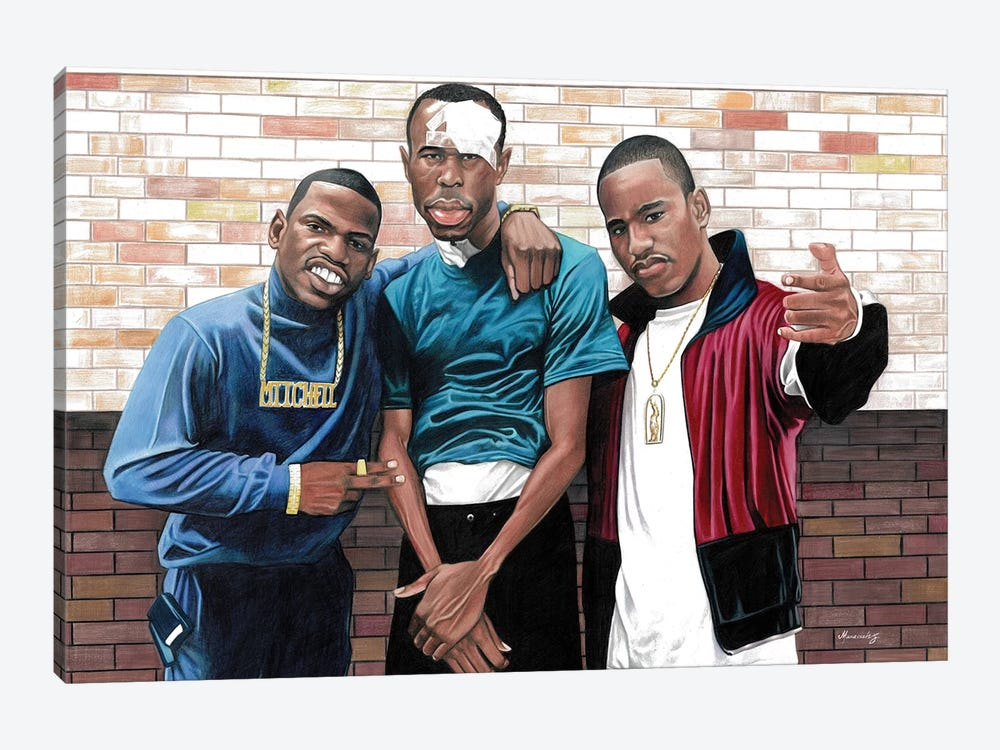 Paid In Full by Manasseh Johnson 1-piece Canvas Art