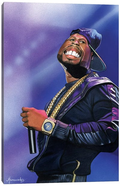 50 Cent Canvas Art Print