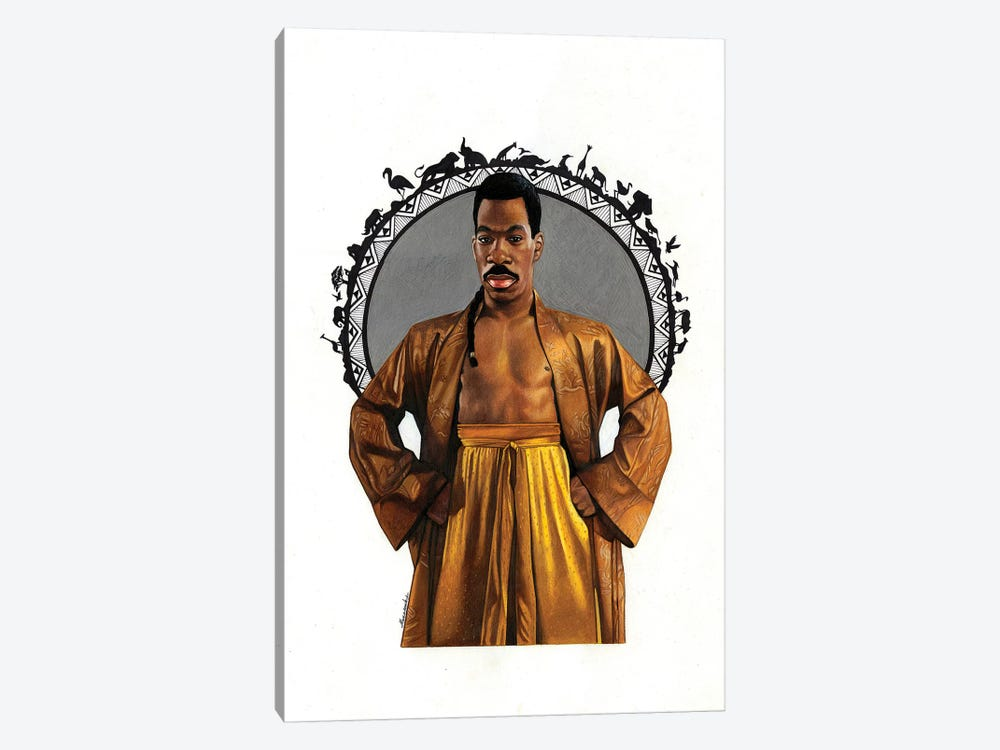 Prince Of Zamunda by Manasseh Johnson 1-piece Canvas Art