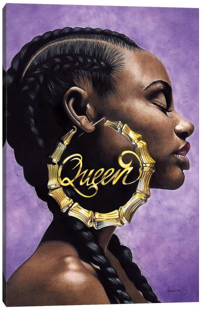 Queen Canvas Art Print