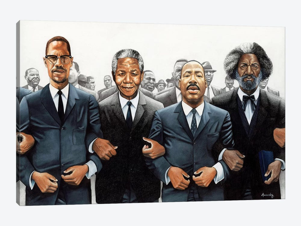 Strength In Numbers by Manasseh Johnson 1-piece Canvas Artwork