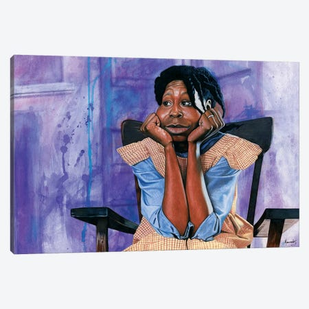 The Color Purple Canvas Print #MNJ23} by Manasseh Johnson Art Print