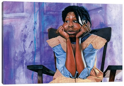 The Color Purple Canvas Art Print